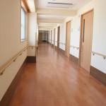 清潔感のある廊下